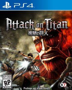 Attack on TItan PS4 Boxart - 20160614