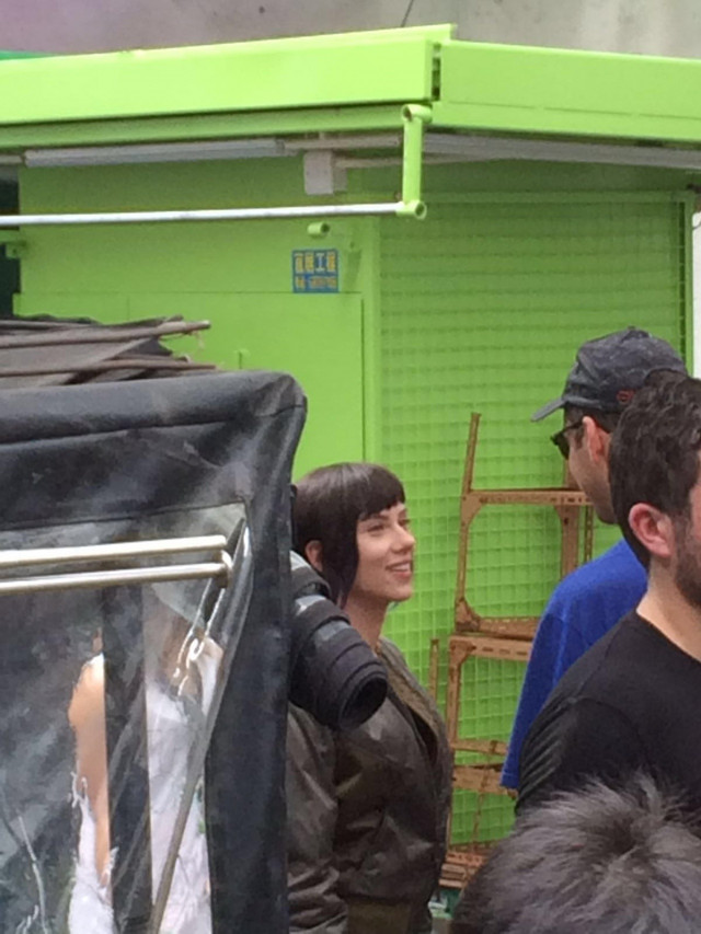 Ghost in the Shell Dreamworks Filming 001 - 20160608