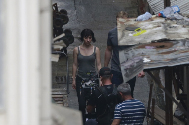 Ghost in the Shell Dreamworks Filming 003 - 20160608