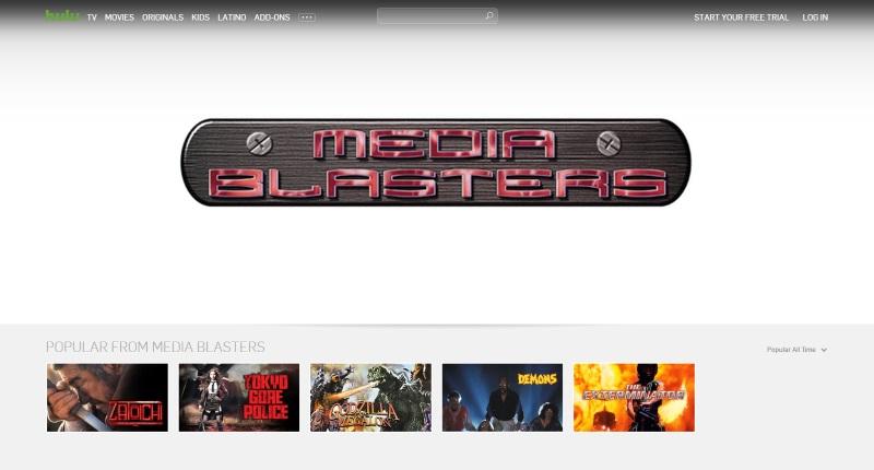 Media Blasters - Hulu Listing - 20160622