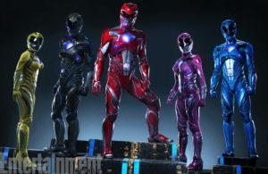 Power Rangers 2017 Cast Photo - Full Ranger Costume - 20160621