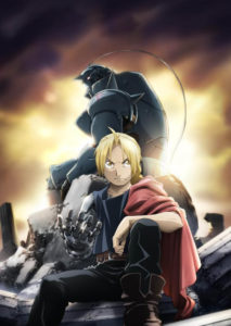Fullmetal Alchemist Brotherhood Key Visual