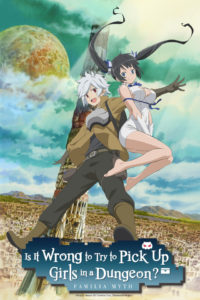 Is It Wrong to Try to Pick Up Girls in a Dungeon? Key Visual