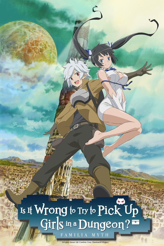Is It Wrong to Try to Pick Up Girls in a Dungeon Visual 001 - 20160702