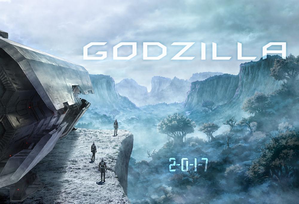 Godzilla Anime Film Visual 001 - 20160818