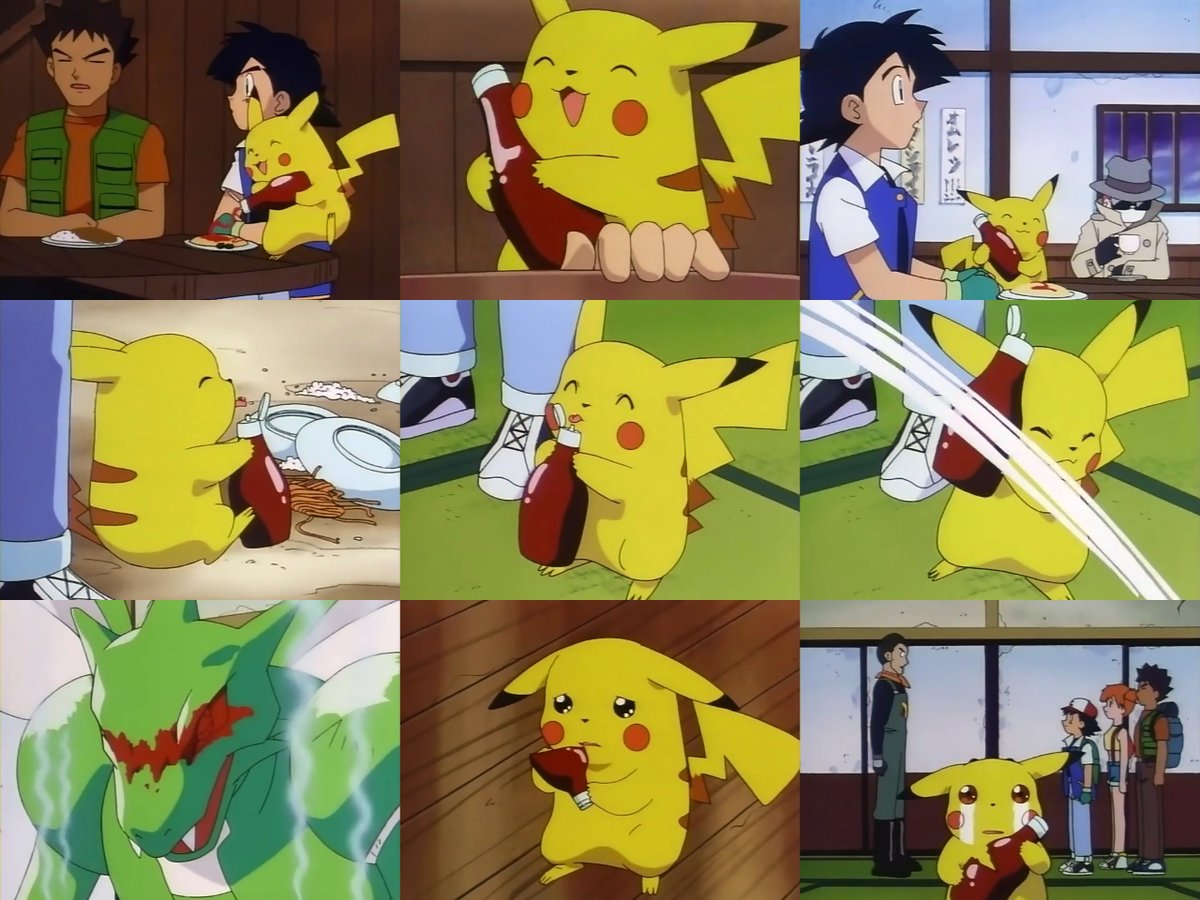 Pikachu Reunited With Beloved Ketchup In New Pokemon Closing Anime Herald
