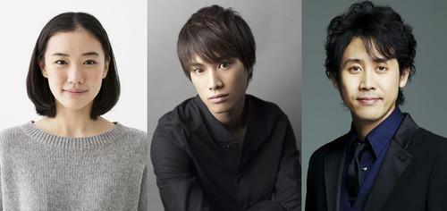 Rize Kamishiro (Left), Kōtarō Amon (Middle). and Kureo Mado (Right)