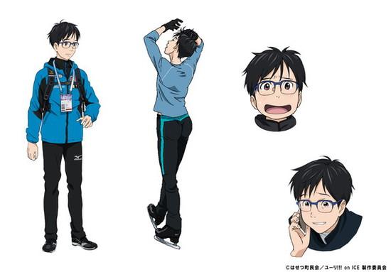 Yuri On Ice Character Visual Yuri Katsuki 001 20160821