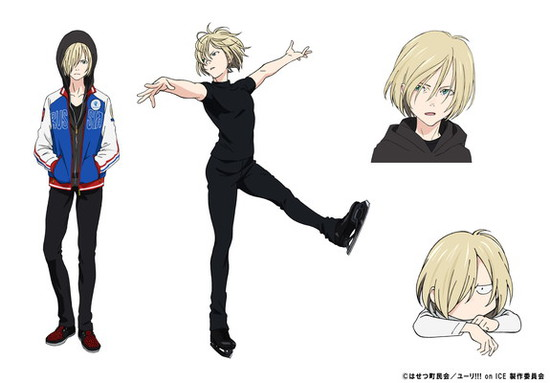 Anime Characters Named Yuri : Yuri on ice character visual plisetsky
