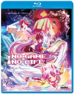 No Game, No Life Complete Collection (Blu-Ray): $69.98 (12 episodes)