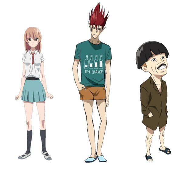 Left to right: Min, Ooji, & Yamada-san