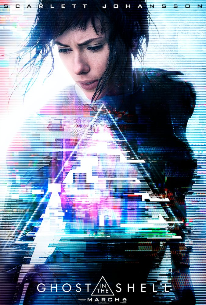 Ghost in the Shell (2017) Poster Visual