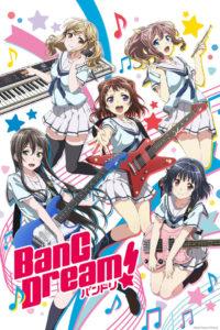 BanG Dream! Anime Key visual