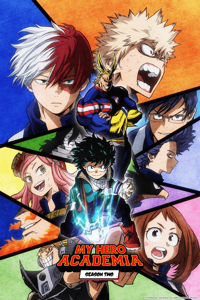 My Hero Academia Season 2 Visual