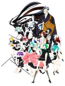Land of the Lustrous key Visual