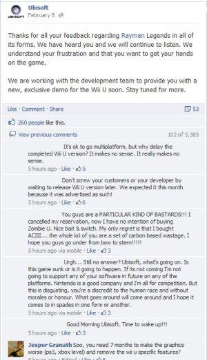 Rayman - FB Post