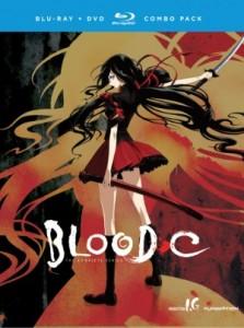 Blood-C Boxart