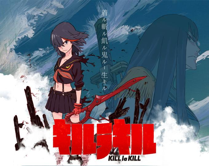 Kill la Kill Gets Epic Dub, Crummy Release Format