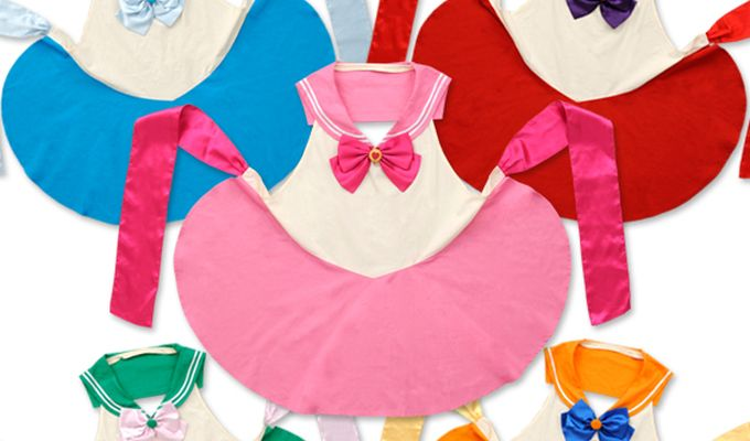 In The Name of the Moon, Let's Cook... With Sailor Moon Aprons!